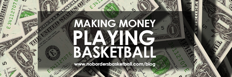 Making money playing basketball