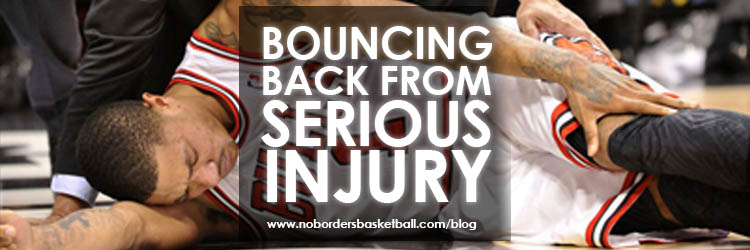 No Borders Basketball Bouncing back from serious injury